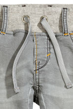 Denim joggers - Grey - Kids | H&M CN 4