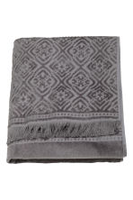 Bath towel - Dark grey - Home All | H&M CN 2