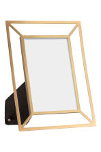 Metal photo frame - Gold - Home All | H&M GB 1