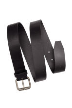 Leather belt - Black - Men | H&M CN 2