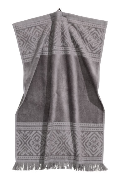 Hand towel - Dark grey - Home All | H&M IE