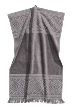 Hand towel - Dark grey - Home All | H&M CN 1