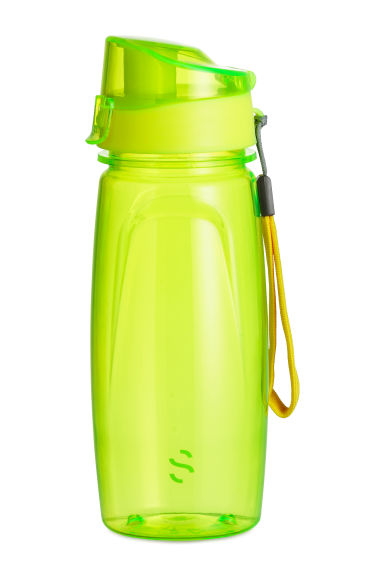Water bottle with a lid - Yellow - Ladies | H&M CN 1