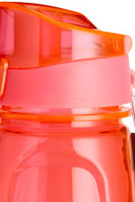 Water bottle with a lid - Coral - Ladies | H&M CN 2
