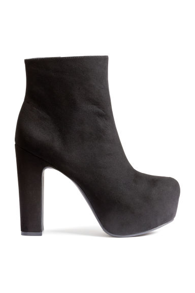 Platform boots - Black - Ladies | H&M CN 1