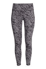 Sports tights - Black/Spotted - Ladies | H&M GB 2