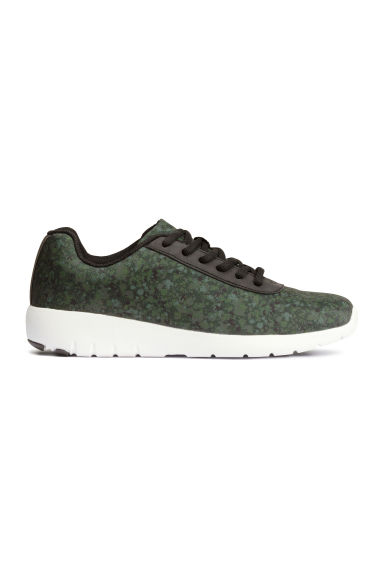 Trainers - Green/Patterned - Ladies | H&M GB 1