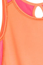 Sports top - Light orange - Kids | H&M CN 3