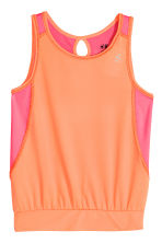 Sports top - Light orange - Kids | H&M CN 2