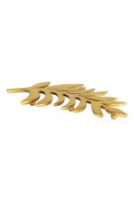 Leaf-shaped trivet - Gold - Home All | H&M GB 2