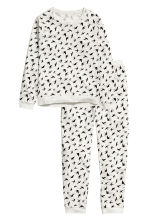 Pyjamas - Light grey/Swallows - Ladies | H&M GB 3