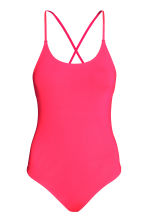 Swimsuit - Neon coral - Ladies | H&M GB 2