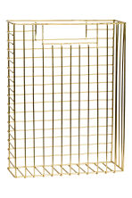 Metal magazine rack - Gold - Home All | H&M GB 2