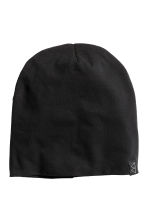 Jersey hat - Black - Men | H&M CN 1