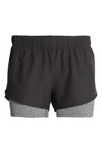 Running shorts - Black - Ladies | H&M CN 2