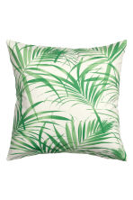 Cotton cushion cover - Green - Home All | H&M GB 2