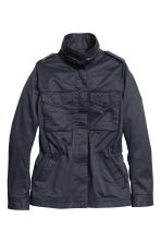Cargo jacket - Dark blue - Ladies | H&M GB 2