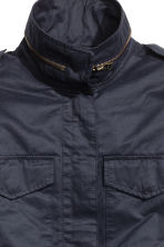 Cargo jacket - Dark blue - Ladies | H&M GB 3