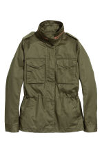 Cargo jacket - Khaki green - Ladies | H&M GB 1