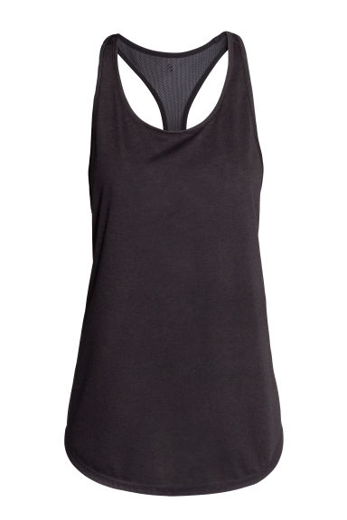 Sports top - Black - Ladies | H&M CN 1