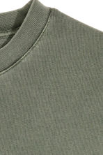 Sweatshirt - Khaki green - Men | H&M CN 3