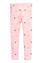 Light pink/Spotted
