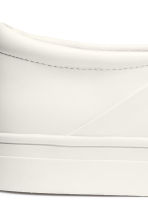 Slip-on trainers - White - Ladies | H&M GB 5