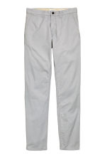 Chinos Slim fit - Light grey - Men | H&M 2