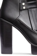 Platform boots with fringes - Black - Ladies | H&M CN 5