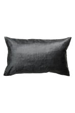 Velvet cushion cover - Anthracite grey - Home All | H&M CN 1