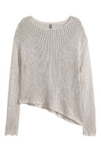 Knitted jumper - Grey - Ladies | H&M CN 2