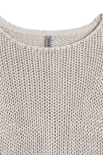 Knitted jumper - Grey - Ladies | H&M CN 3