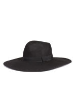 Wool hat - Black - Ladies | H&M GB 1