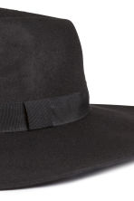 Wool hat - Black - Ladies | H&M GB 2