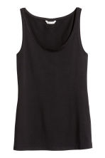 Jersey vest top - Black - Ladies | H&M 2