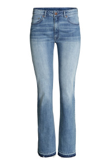 Flared Regular Jeans