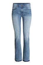 Flared Regular Jeans - 牛仔蓝 - 女士 | H&M CN 2