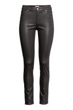 Superstretch trousers - Black/Coated -  | H&M 3