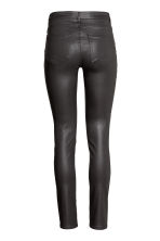 Superstretch trousers - Black/Coated -  | H&M 4