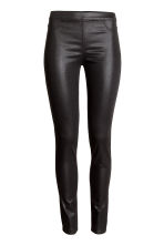 Superstretch treggings - Black/Coated - Ladies | H&M 2