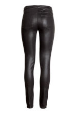 Superstretch treggings - Black/Coated - Ladies | H&M 3