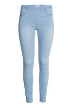 Superstretch-tregging - Licht denimblauw - DAMES | H&M NL 2