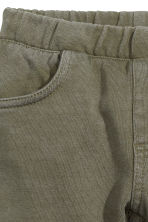 Cotton jeggings - Khaki green - Kids | H&M CN 3