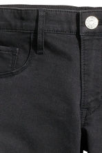 Skinny Fit Generous Size Jeans - Zwart -  | H&M BE 3