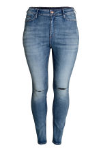 H&M+ Skinny High Jeans - Denim blue - Ladies | H&M CN 2