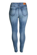 H&M+ Skinny High Jeans - Denim blue - Ladies | H&M CN 3