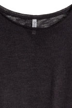 Fine-knit jumper - Black -  | H&M 3