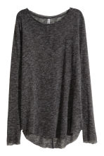 Fine-knit jumper - Dark grey -  | H&M CN 3