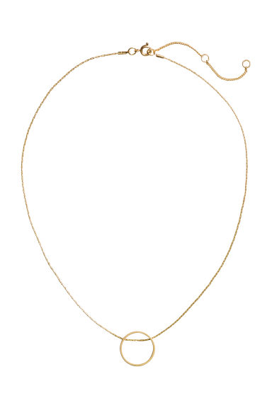 Necklace with a pendant - Gold - Ladies | H&M IE