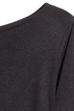 Boat-neck top - Black - Ladies | H&M 3